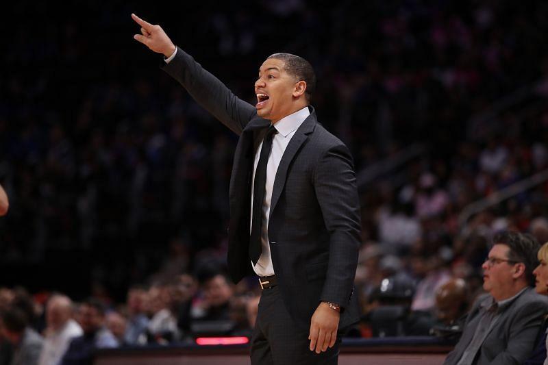 Head coach Tyronn Lue of the LA Clippers