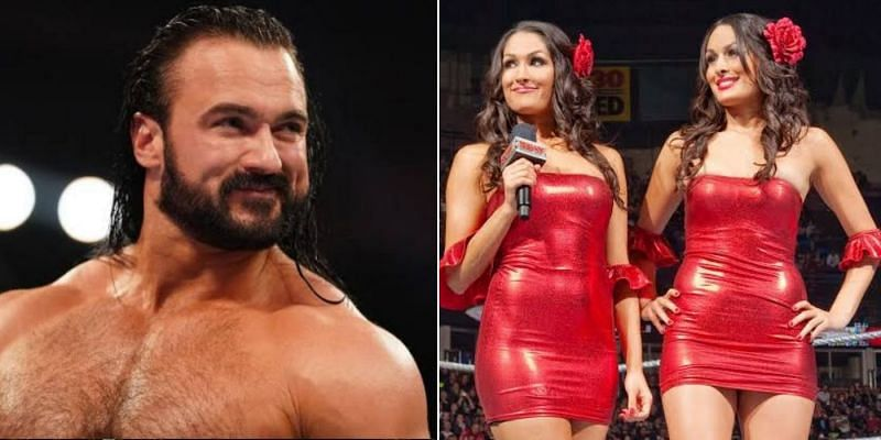 Drew McIntyre shared his thoughts on The Bella Twins going in WWE Hall of Fame