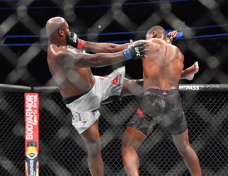 Derrick Lewis already owns a UFC win over Francis Ngannou from 2018