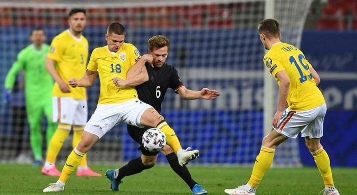 Romania put up a strong performance against Germany