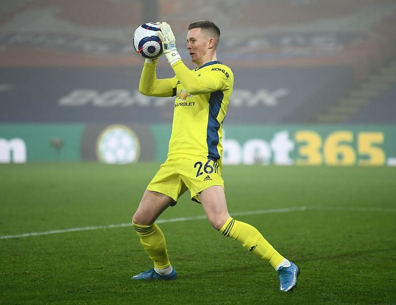 Dean Henderson was one of four changes to United