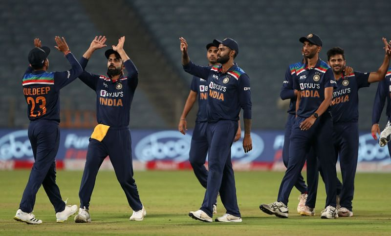 The hosts took a 1-0 lead in the India vs England series at Pune