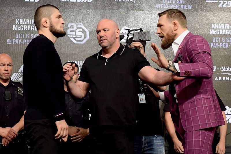UFC 229: Khabib v McGregor Press Conference.