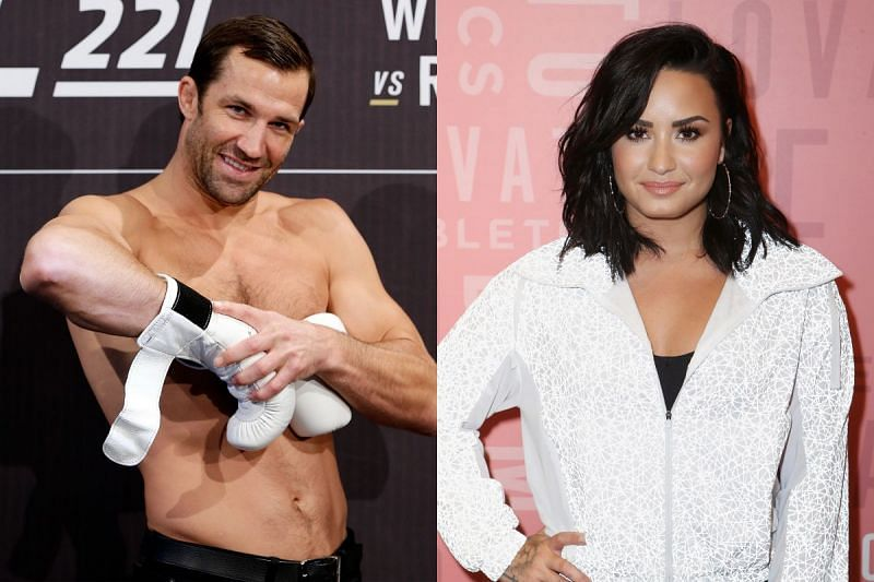 Luke Rockhold dated Demi Lovato in 2016