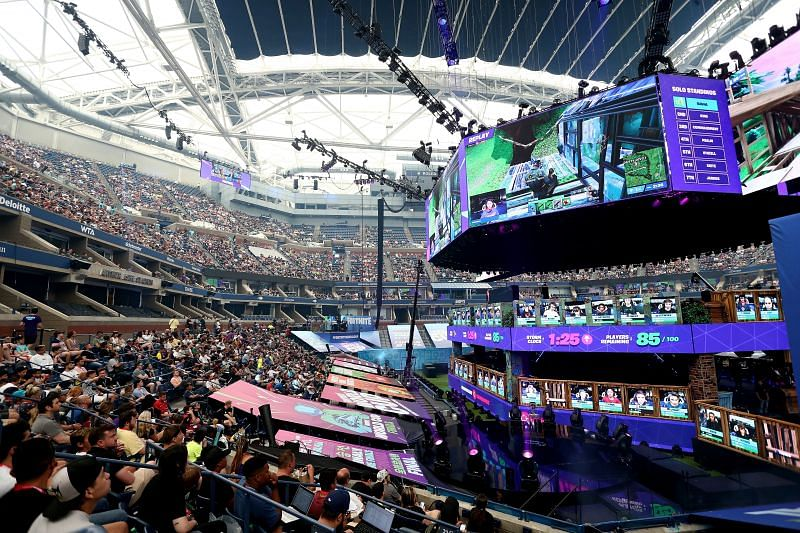 The Fortnite World Cup Finals - Final Round (Image via Mike Stobe/Getty Images)