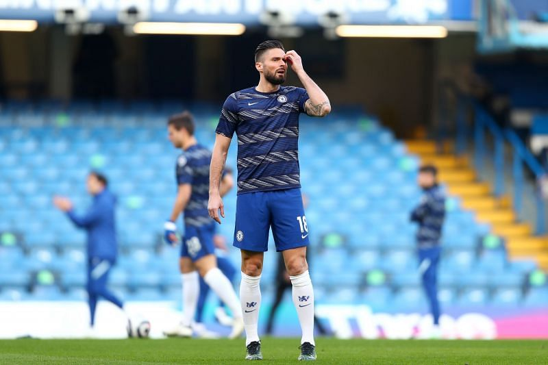 Olivier Giroud is set to leave Chelsea in the summer