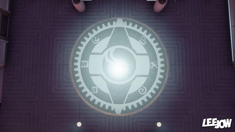 Symbols on the IO Logo (Image via YouTube/LeeJow)