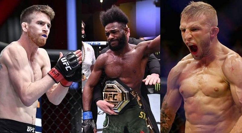 Aljamain Sterling breaks down possible UFC bantamweight title eliminator fight between Cory Sandhagen and TJ Dillashaw