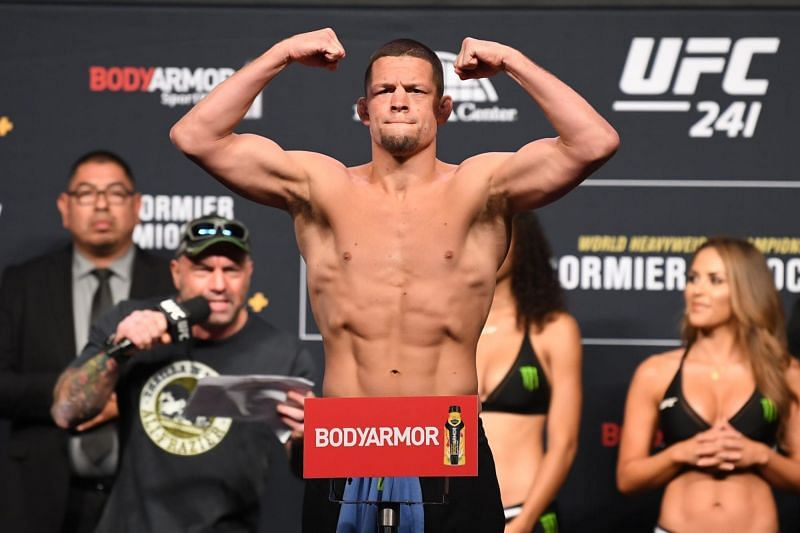 Nate Diaz will be fighting Leon Edwards at UFC 262