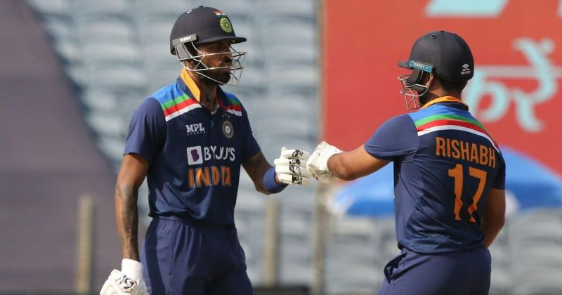 Hardik Pandya and Rishabh Pant stitched together a 99-run partnership for the 5th wicket