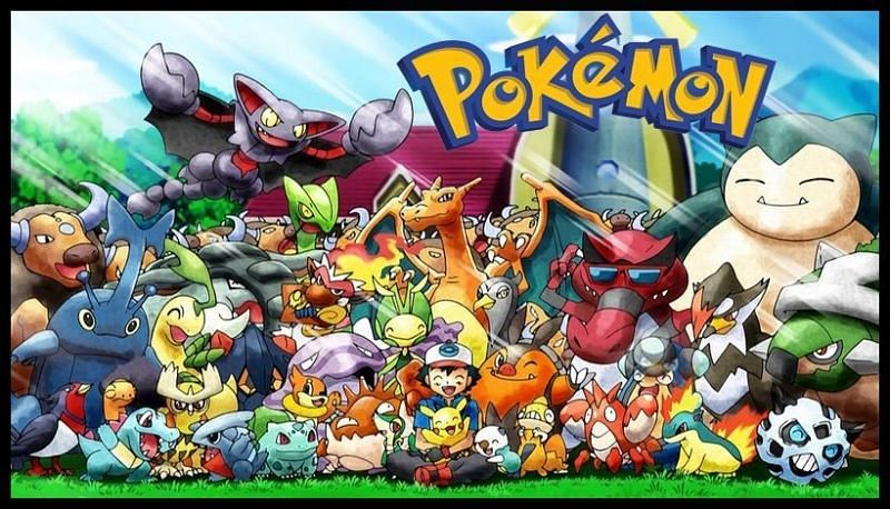 Ash Ketchum with his Pokemon (Image via The Pokemon Company)