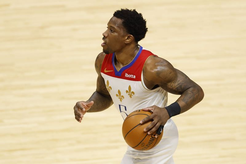 Eric Bledsoe in action for the New Orleans Pelicans