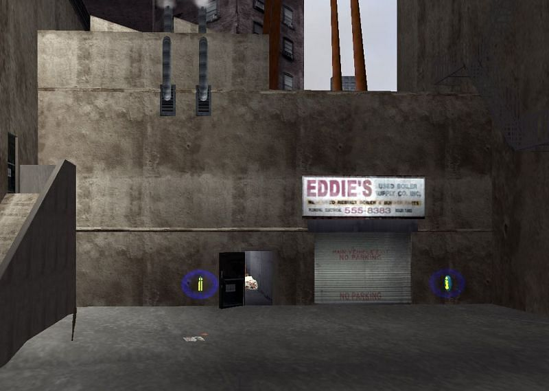Safehouses exist as a convenient feature where players may store their vehicles and other valuables (Image via GTA Wiki)
