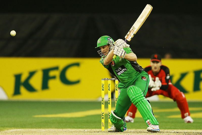 David Hussey, here seen in the BBL, was a star performer for KKR in IPL