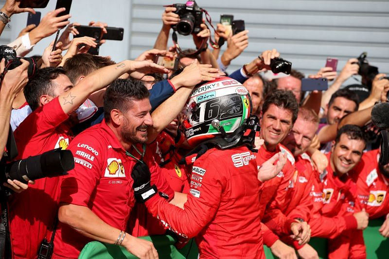 Ferrari have some of the most passionate fans in the world. Photo: Charles Coates//Getty Images