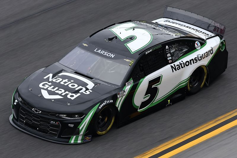 Hendrick Motorsports No. 5 driven by Kyle Larson. (Photo by James Gilbert/Getty Images)