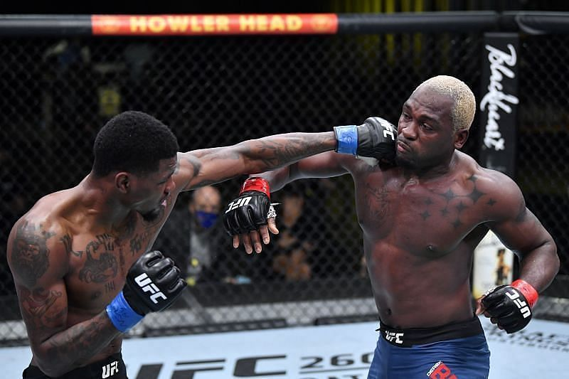 Kevin Holland was unable to overcome Derek Brunson at UFC Vegas 22.