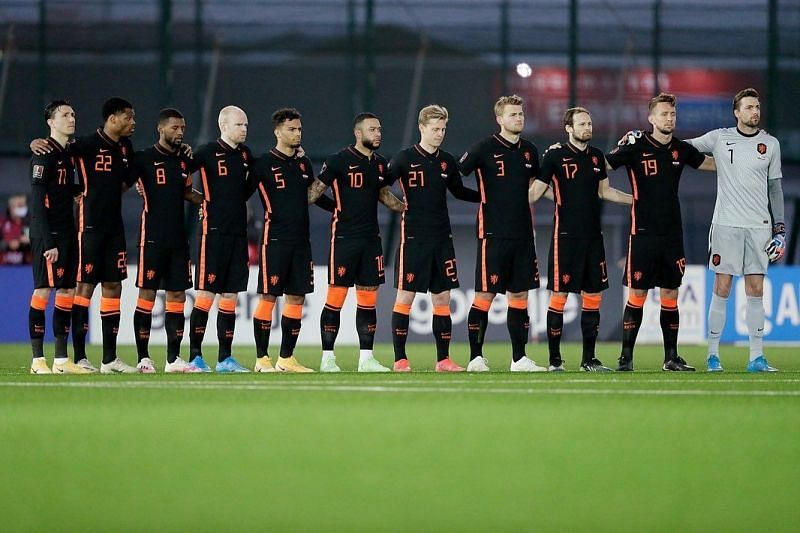 The Netehrlands thumped Gibraltar 7-0