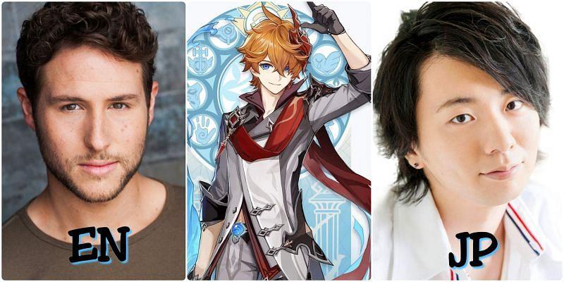 Voice actors of Tartaglia (Childe)