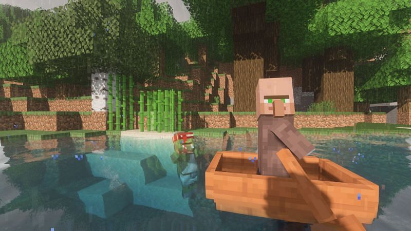 Run! Oh wait you cant... (Image via Minecraft)