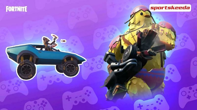 Epic Games confirmed in an official blog that the Chonkers Tire Set, new weapons, and Raptors are coming to Fortnite Season 6 (Image via Sportskeeda)
