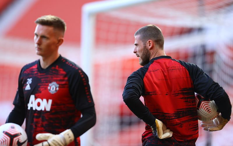 David De Gea and Dean Henderson.<p>