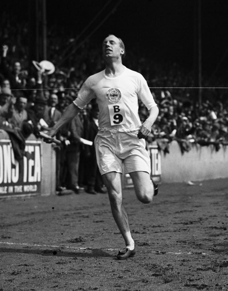 Eric Liddell won a gold and bronze in 1924 Paris Olympics