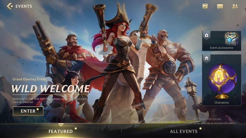 Wild Welcome event