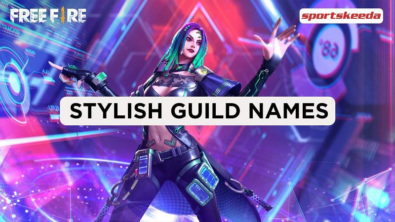 Guild names can help teams stand out in Free Fire