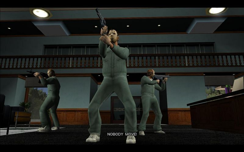 Unlock this outfit by completing The Job (Image via GTA Wiki)