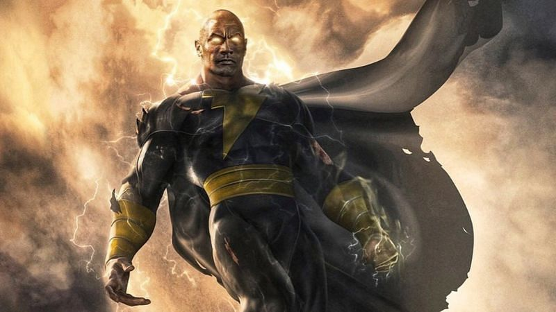 """Black Adam"" movie credit of DC Comics"
