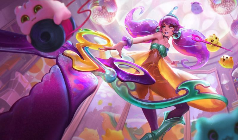 Gwen and Space Groove release date in League of Legends
