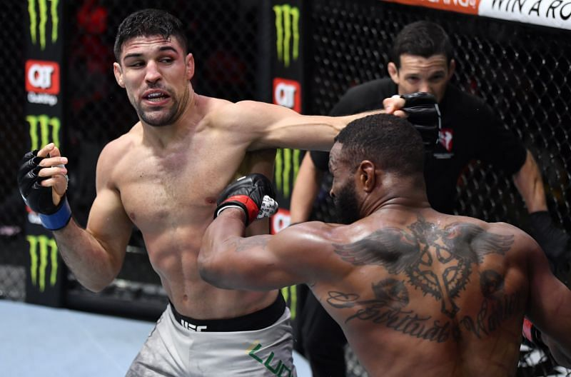 Vincente Luque must be considered a UFC Welterweight title contender after stopping Tyron Woodley.