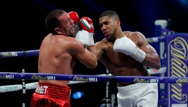 Anthony Joshua vs. Kubrat Pulev
