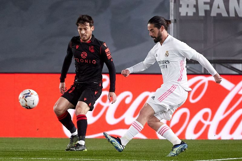 Real Madrid were held to a 1-1 draw by Real Sociedad