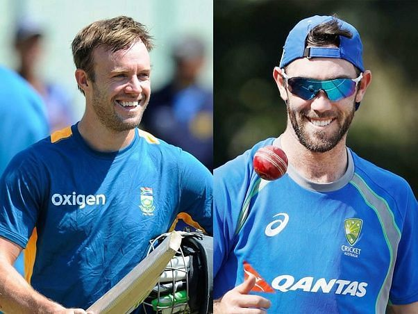 Glenn Maxwell and AB de Villiers (Image source Quora)