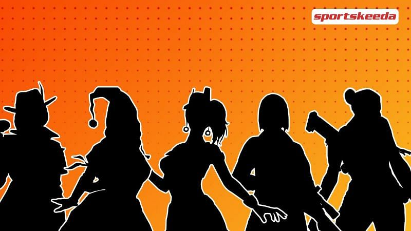 Listing top 5 female characters in Free Fire in April 2021 (Image via Sportskeeda)