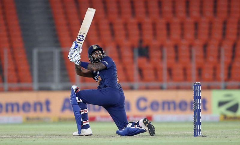 Suryakumar Yadav shone with the bat in his debut international series