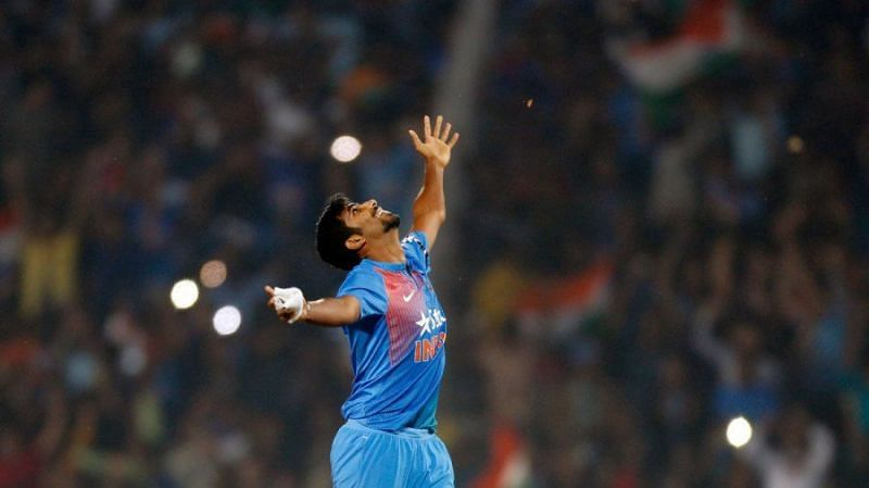 Jasprit Bumrah helped India to a win in Nagpur (Photo: Twitter)