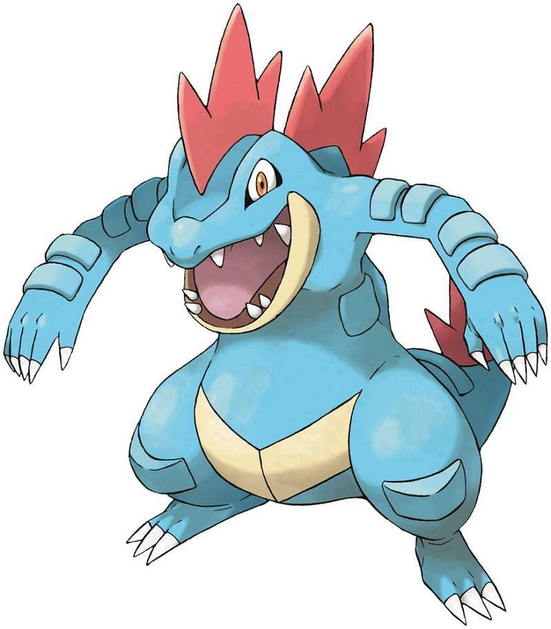 Feraligatr (Image via The Pokemon Company)