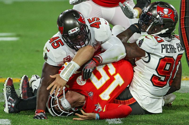 Tampa Bay Buccaneers defense dominated Patrick Mahomes in Super Bowl 55