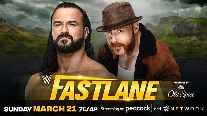 Drew McIntyre and Sheamus will collide in a No Holds Barred match at Fastlane.