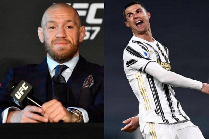 Conor McGregor and Cristiano Ronaldo