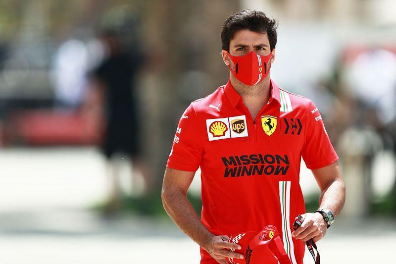 "Carlos Sainz felt he was still ""underdriving"" the car. Photo: Mark Thompson/Getty Images"