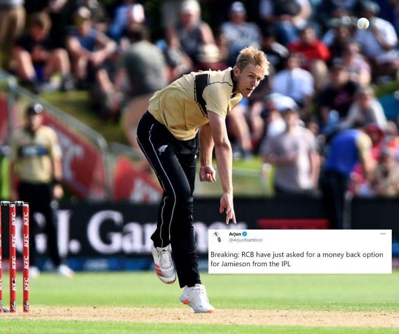 Kyle Jamieson looks burdened with IPL 2021 pressure