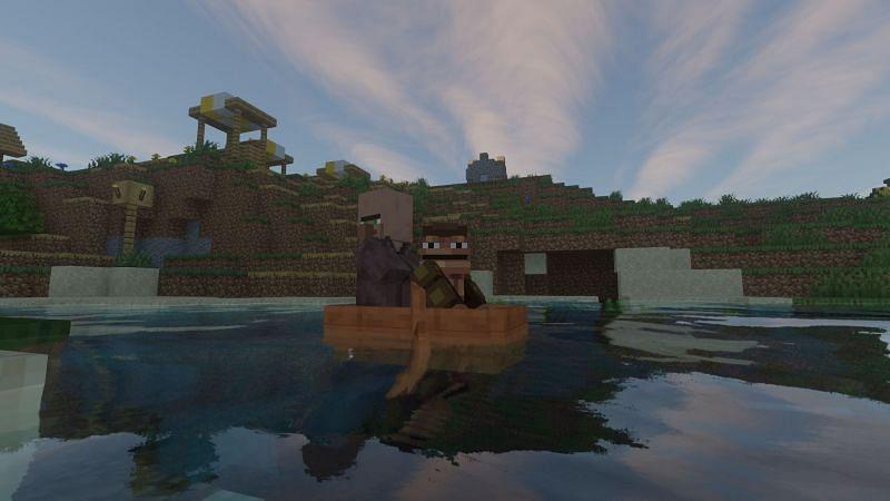 Oh, the horror! (Image via Minecraft)