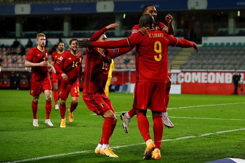 Belgium play Wales on Wednesday