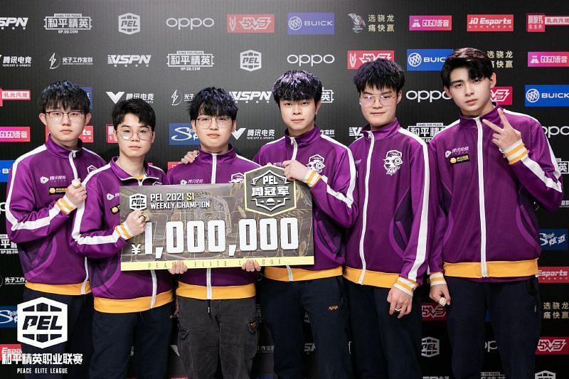 Nova XQF were crowned PEL 2021 Se1 Week 3 champions