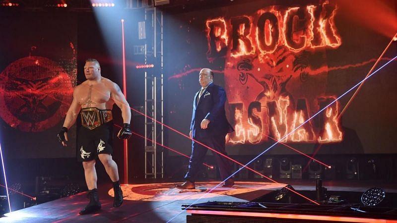 ब्रॉक लैसनर WrestleMania 36 के बाद नजर नहीं आए हैं