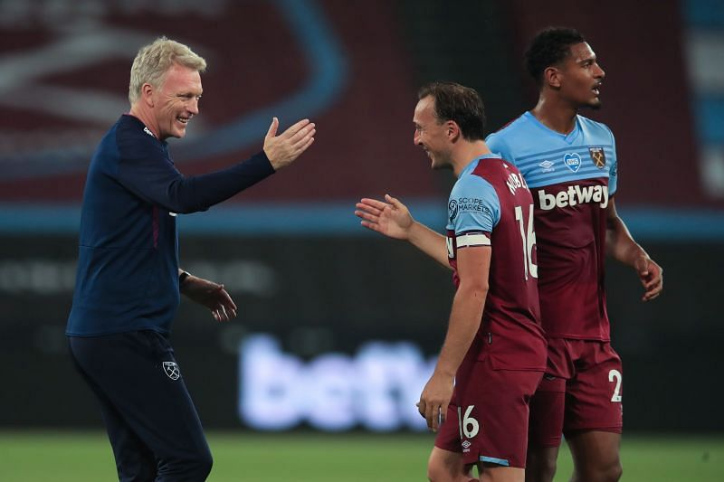 David Moyes is pushing for a European place with West Ham United.